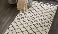 Moroccan Shag MRS01 Cream Rug