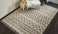 Moroccan Shag MRS02 Cream Rug