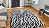Matrix Think MT89 Black White Rug