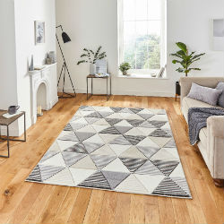Matrix Think MT15 Grey Beige Rug