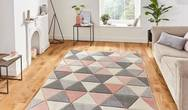 Matrix Think Matrix MT15 Grey Rose Rug