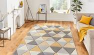Matrix Think Matrix MT15 Grey Yellow Rug