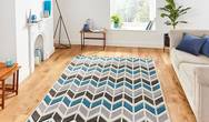 Matrix Think Matrix MT24 Grey Blue Rug