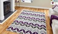 Matrix Think Matrix MT24 Grey Purple Rug