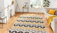Matrix Think Matrix MT24 Grey Yellow Rug