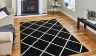 Matrix Think Matrix MT35 Black White Rug
