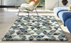 Mehari 023 0117 6151 Blue Green Rug