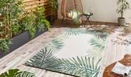 Miami 19435 Light Beige Green Rug