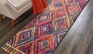 Nomad Nourison NMD01 Red Multi Rug