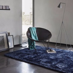 New Glamour 3303 13 Blue Rug
