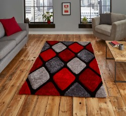 Nobel House 9247 Grey Red Rug