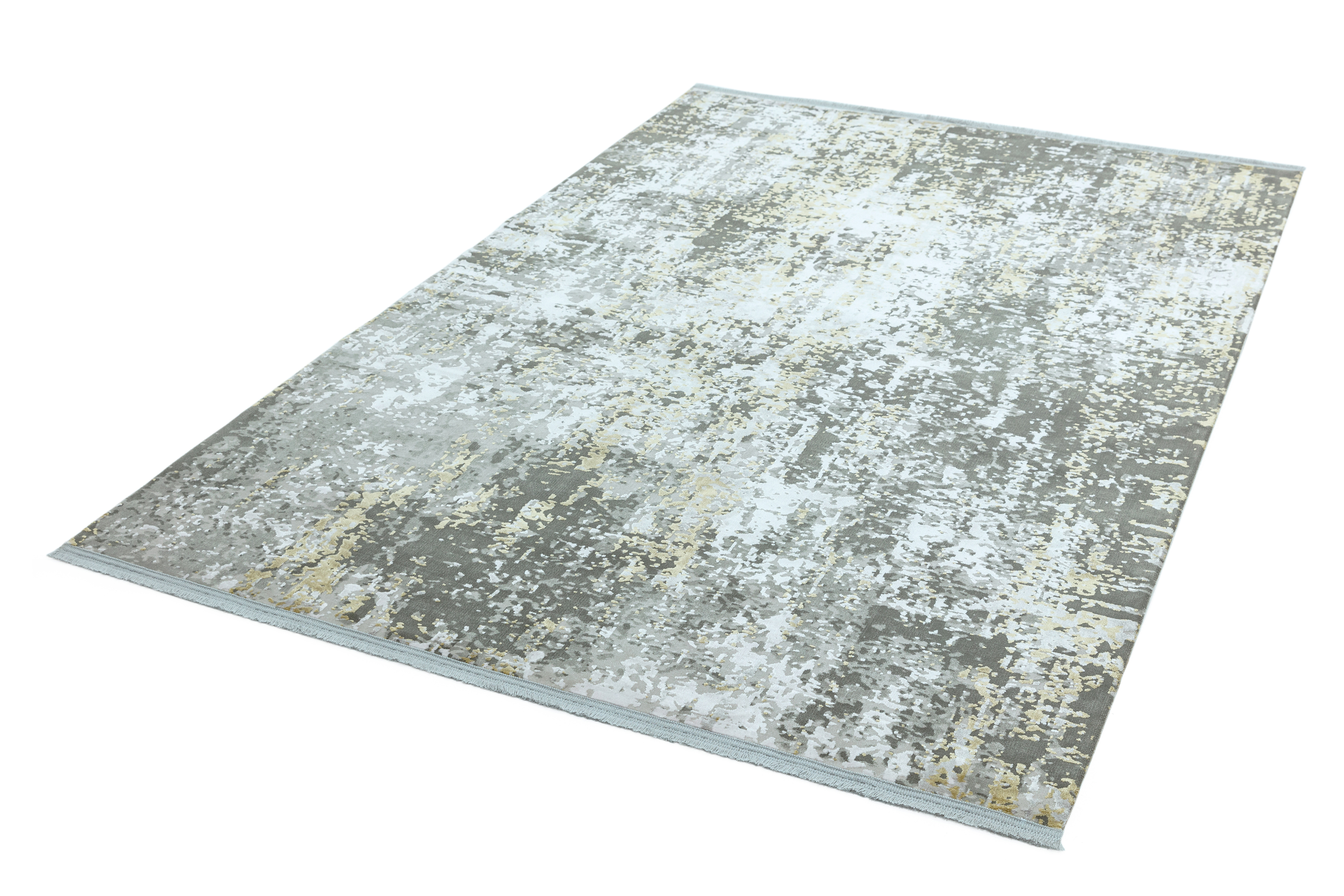 Olympia OL06 Grey Gold Abstract Rug