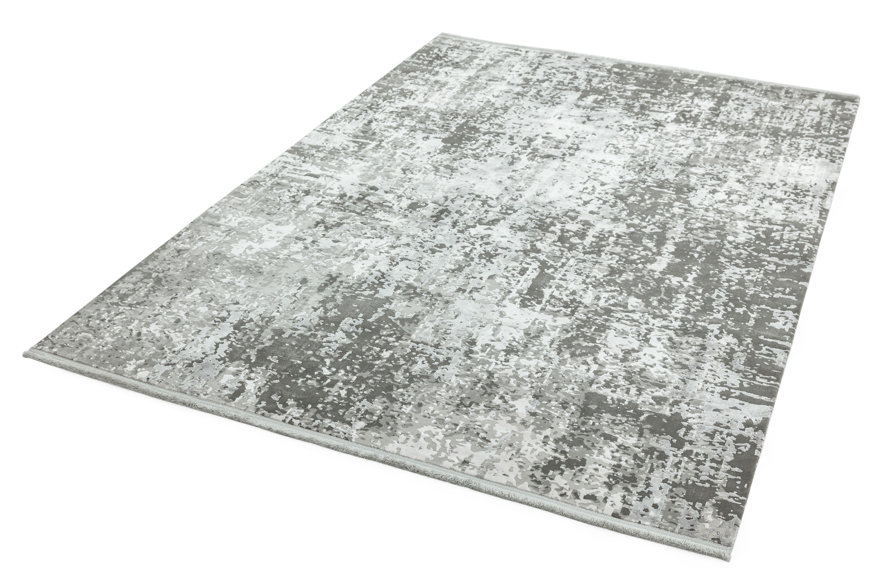 Olympia OL07 Silver Grey Abstract Rug