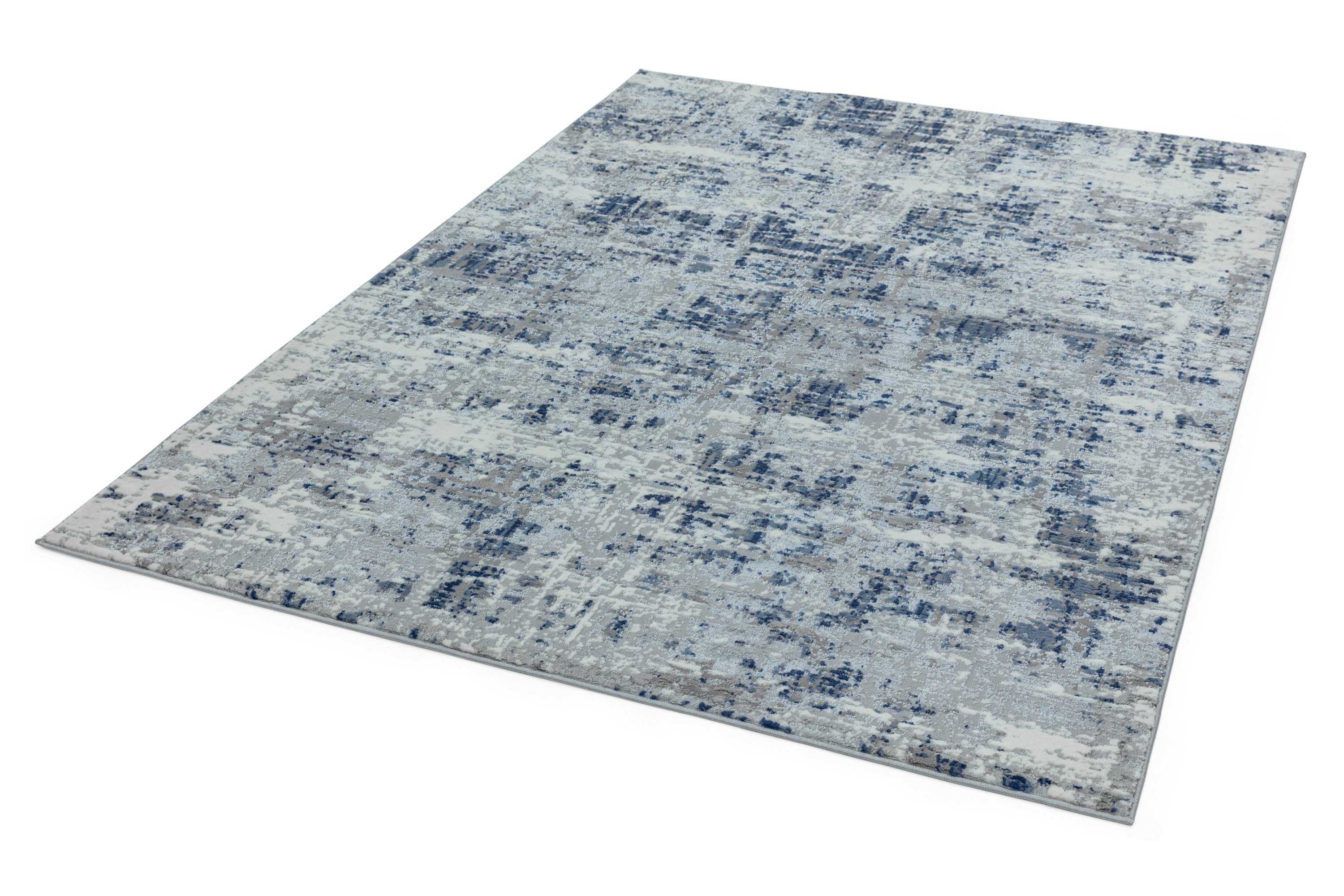 Orion OR04 Abstract Blue Rug
