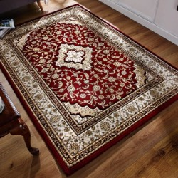 Ottoman Temple Red Rug