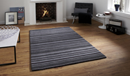 Oxford OX-10 Black Grey  Rug