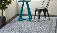 Palermo PMR01 Blue Grey Rug