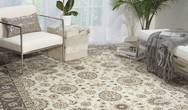 Persian Crown PC002 Ivory Grey Rug