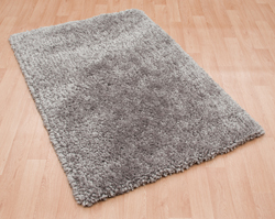 Asiatic Spiral Silver Rug