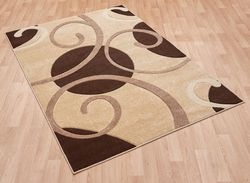 Couture Cou 05 Brown beige Rug