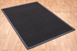 Sisal Black/ Grey Rug