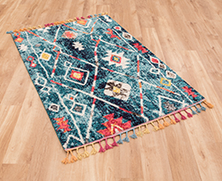 Royal Marrakech 2267A Dark Turquoise Rug
