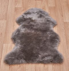 Sheepskin Mink coloured Sheepskin Rug