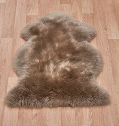 Sheepskin Taupe Sheepskin Rug