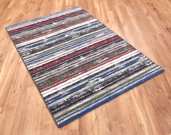 Woodstock 32651 6268 Blue Red Rug