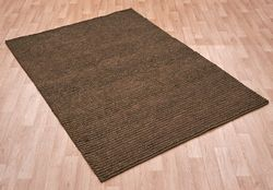Jute Loop Brown Rug