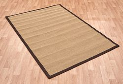 Sisal Linen / Chocolate Rug