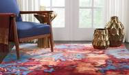 Prismatic PRS13 Blue Flame Rug