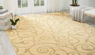 Riviera RI03 Light Gold Rug