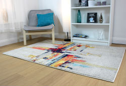 Radiant Art Splash Rug