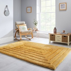 Verge Ridge Ochre Rug