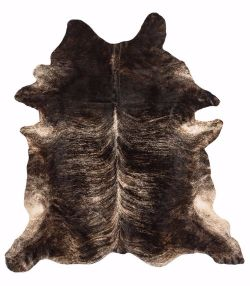 Rodeo Cowhides Exotic Dark Rug