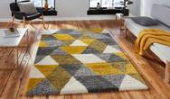 Royal Nomadic 7611 Grey Yellow Rug