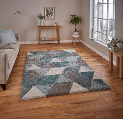 Royal Nomadic 7611 Grey Teal Rug