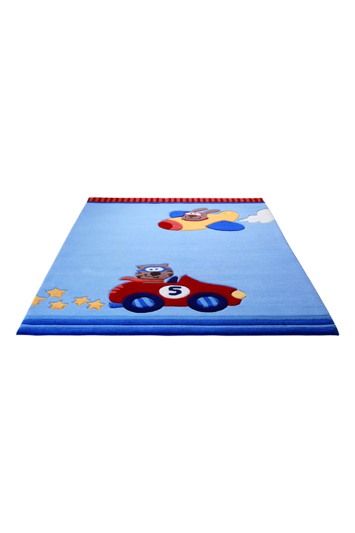 SigiKid 3 Happy Street Cars 3343-01 Rug