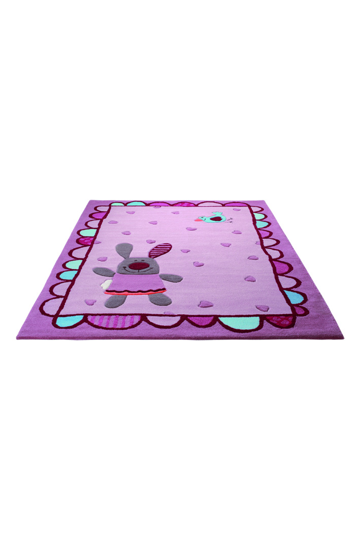 SigiKid 3 3 happy friends hearts 3350-01 Rug