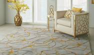 Symmetry SMM05 Grey Yellow Rug