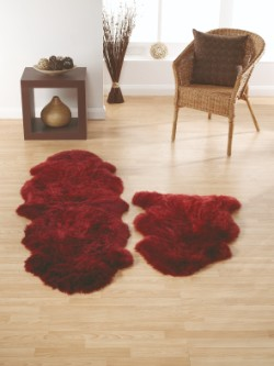 SheepSkins Hug Berry Rug