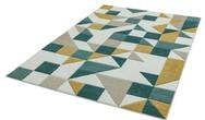 Sketch SK03 Shapes Green Rug