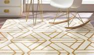 Escher Cream Gold Rug