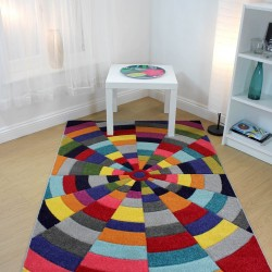 Spectrum Flair Spiral Multi Rug