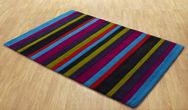 Jazz Stripes Multi Rug