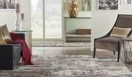 Tangra TNR02 Grey Multi Rug
