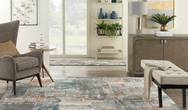 Tangra TNR06 Grey Multi Rug