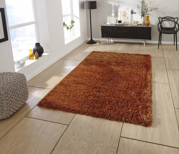 Monte Carlo Burnt Orange Rug