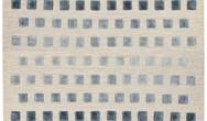 Theo Silvery Squares Rug